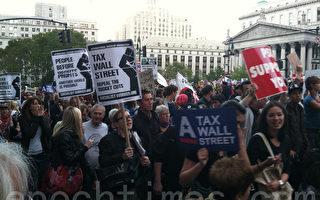 中共「聲援」華爾街遊行示威遭諷