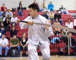 上届全世界华人武术大赛选手英姿(摄影:戴兵/大纪元)