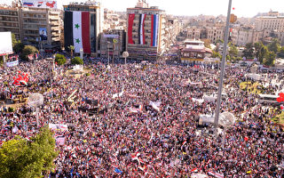 阿萨得持续镇压叙利亚抗议人群