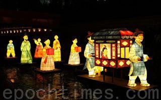 組圖:首爾燈籠慶典展現韓國傳統文化