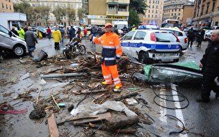 意大利西北洪水 国际足联赛取消