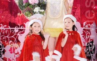 组图:刘嘉玲爱白色圣诞  创造美好回忆