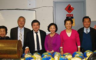 感恩节送温暖 社区分享250只火鸡