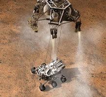 美火星科学实验室成功发射 明年8月抵达