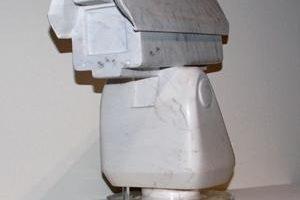 艾未未的雕塑作品《监控器》 (杨雨提供)