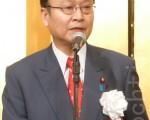 日本眾議院議員中津川博鄉12月12日在東京誓言一定要救出被北朝鮮綁架的日本人(攝影:張本真/大紀元)