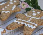 聖誕薑餅Ginger biscuit(攝影: ALEX / 大紀元)