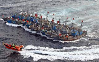 韩媒称有上万中国渔船进韩海域非法捕鱼