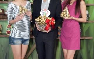宥勝陳庭妮歡喜冤家 開心吃巧克力慶功