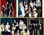 KING KONG娱乐公司所属艺人的圣诞造型照(图/HIGHCUT提供)