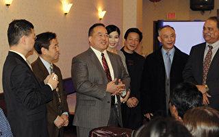 首位费城亚裔市议员亮相亚裔商会聚会