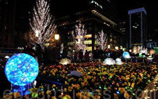 東京點亮「絆·希望」的夢幻燈飾