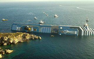 意大利豪华邮轮搁浅 传至少6死