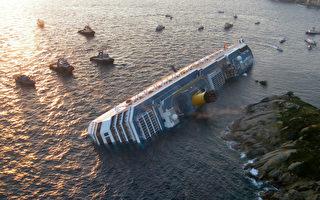 意大利逾四千人豪华邮轮触礁 3死69失踪