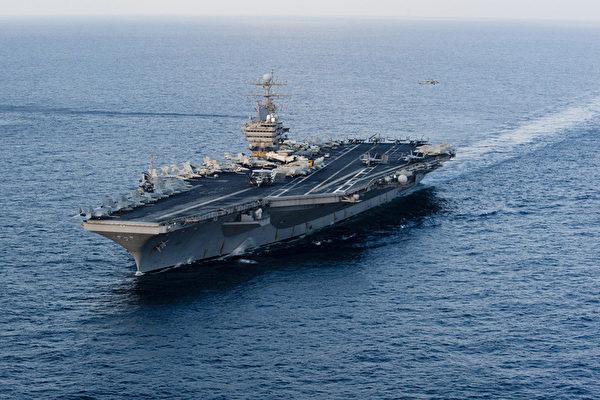伊朗用航母模型演习?美军:可应对海上威胁