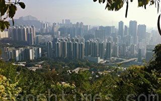 香港新界土地。(攝影: 宋祥龍 / 大紀元)