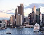 悉尼環堤碼頭的新貌(攝影:簡玬/大紀元)