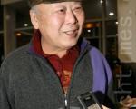 韩国信协忠正路理事长朴日绪(摄影:李始炯 / 大纪元)