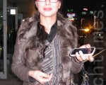 韩国世界传统舞蹈协会会长安香信(摄影: 李黛娜 / 大纪元)