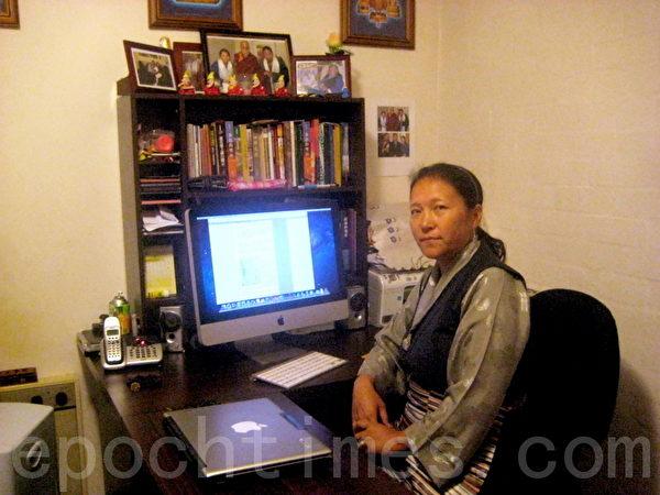 流亡13年,达珍表示从未后悔流亡,因为享受到了真正的自由,并得以为结束藏人的苦难尽一己之力。(达珍提供)