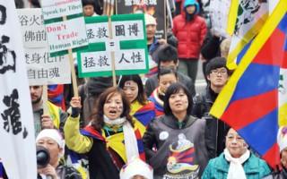 海外藏人纪念3.10和平抗暴53周年