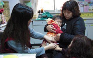 日本腦炎流行期 幼兒疫苗接種不缺席