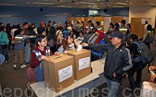 中共挺梁振英 港民间22万人投票 55%是白票