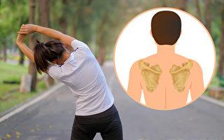 肩胛骨減肥法!走路10分鐘就能燃燒脂肪