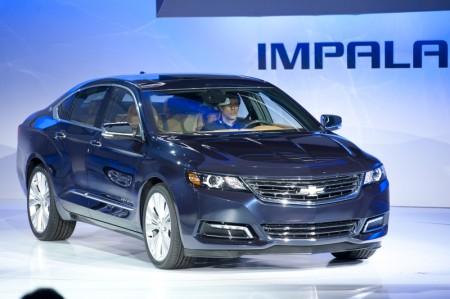 2012纽约国际汽车展Chevrolet Impala(摄影:戴兵/大纪元)