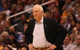 馬刺教頭讚NBA總裁有勇氣!美球迷黑衣撐港