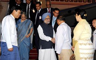 印度总理访缅 料签署贸易协议