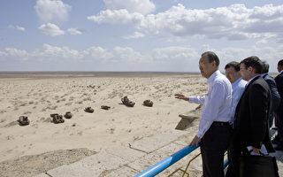 """咸海变沙漠  50年前弃船""""幽灵现身"""""""