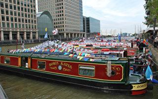 英女王泰晤士河巡遊慶典整裝待發