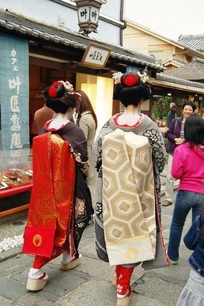古典时尚趣味考:日本和服