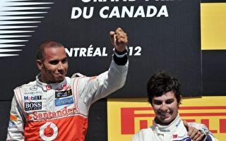 F1加拿大站汉密尔顿获胜