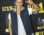 小天王贾斯汀•比伯(Justin Bieber)出席记者招待会。(图/GettyImages)