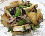 培根豆腐(摄影: 新唐人电视台 提供)
