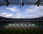 弗罗茨瓦夫市政球场内部全景。(FABRICE COFFRINI/AFP)