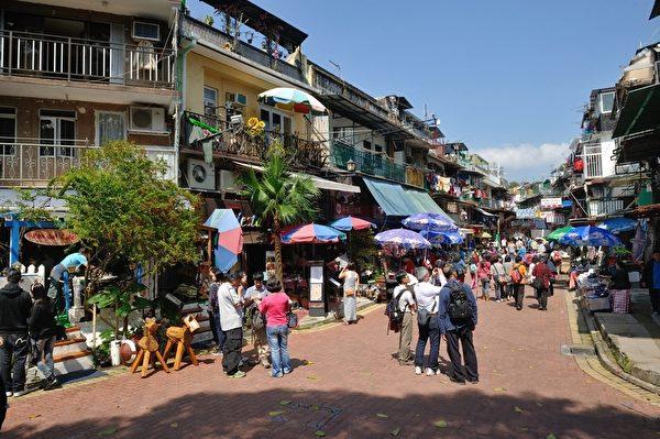 西贡旧村市集(摄影:宋祥龙/大纪元)
