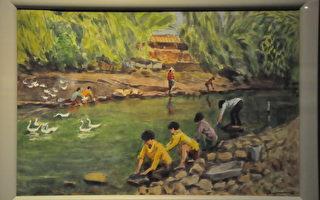 日本画家彩笔下的台湾风景 不破章水彩画展