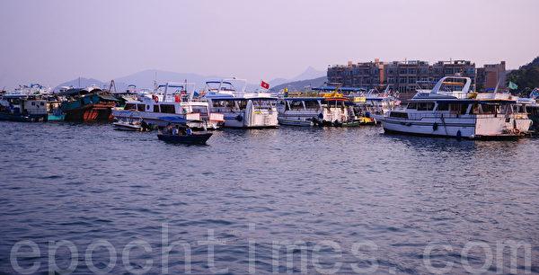 西贡码头对开海景(摄影:宋祥龙/大纪元)