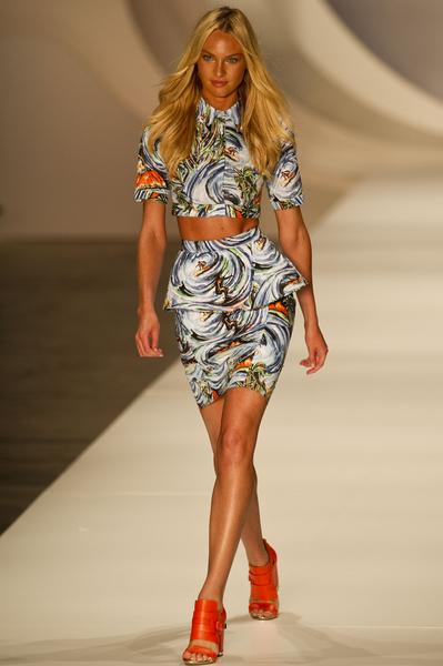 2012年6月14日,坎蒂絲•斯瓦內普爾參加巴西的Colcci 時裝發佈會。(圖/Getty Images)