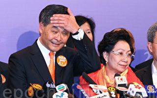 香港候任特首梁振英瞒违建 泛民促宣誓后辞职