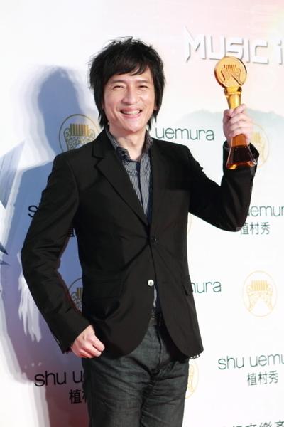最佳單曲製作人獎:薛忠銘/那些年《那些年,我們一起追的女孩》/台灣索尼音樂娛樂股份有限公司(攝影:許基東/大紀元)