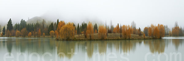 秋天的晨霧(風景攝影家史蒂夫•弗雷澤提供)
