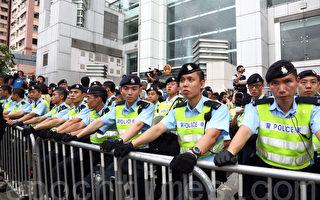 七一香港保安超嚴 涉政法委攪局