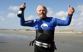 风筝冲浪跨海 维京老板创纪录