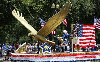 华盛顿DC盛大游行 庆祝美国独立236周年