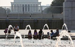 美国周末高温飙过37.8度 40万居民仍断电