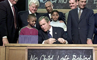"""美国25州退出""""不落下一个孩子"""" 计划"""